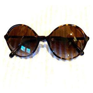 CHANEL Round Pearl Sunglasses